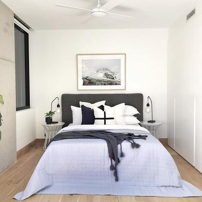 bedhead master bedroom